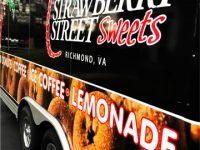 Strawberry Street Event Catering Mobile Trailer